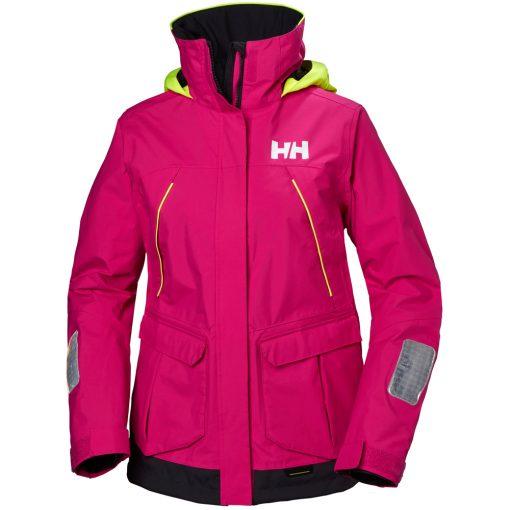 Women's dark pink Pier Waterproof Jacket