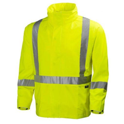Men's yellow Narvik helly hansen workwear Jacket