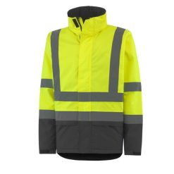 Mens workwear yellow Insulated Jacket