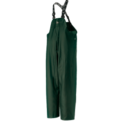 Men's dark green workwear Bib