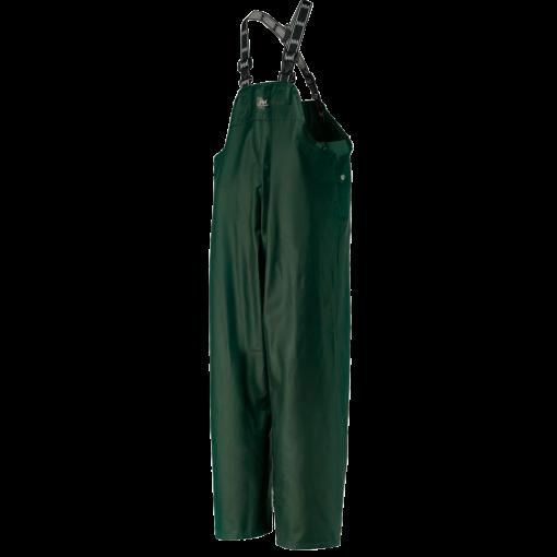 Men's dark green workwear Bib