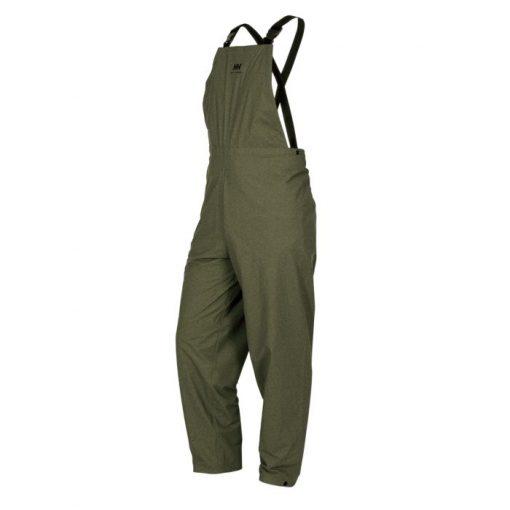Men's green brown Rainwear Waterproof Bib