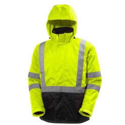 Men's yellow Alta Shell Jacket with hood