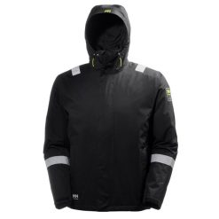 Men's lightweight black Aker Shell helly hansen Jacket