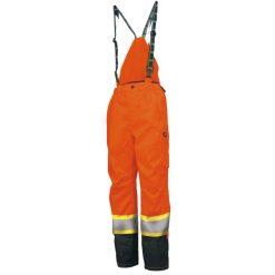 Men's orange Potsdam striping pants