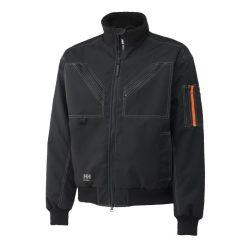 Mens black workwear Bergholm Jacket