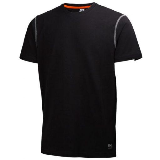 Men's Oxford black baselayer T-Shirt