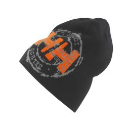 Unisex black workwear Beanie