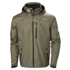 Helly Hansen Mens Crew Hooded Jacket