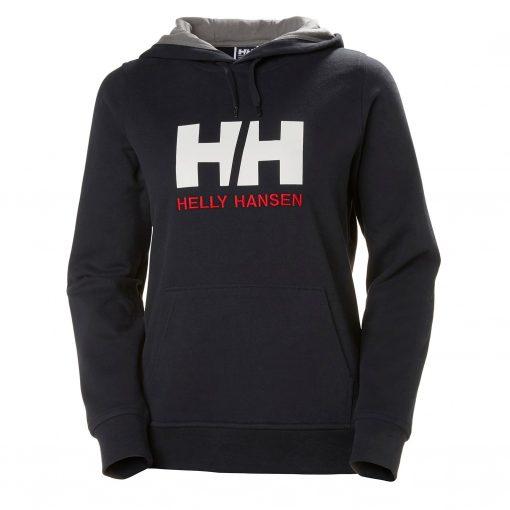 Helly Hansen Womens Crew Series HH Logo Hoodie
