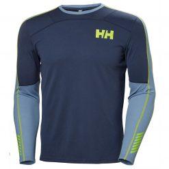 Helly Hansen Mens Lifa HH Active Crew Longsleeve Baselayer