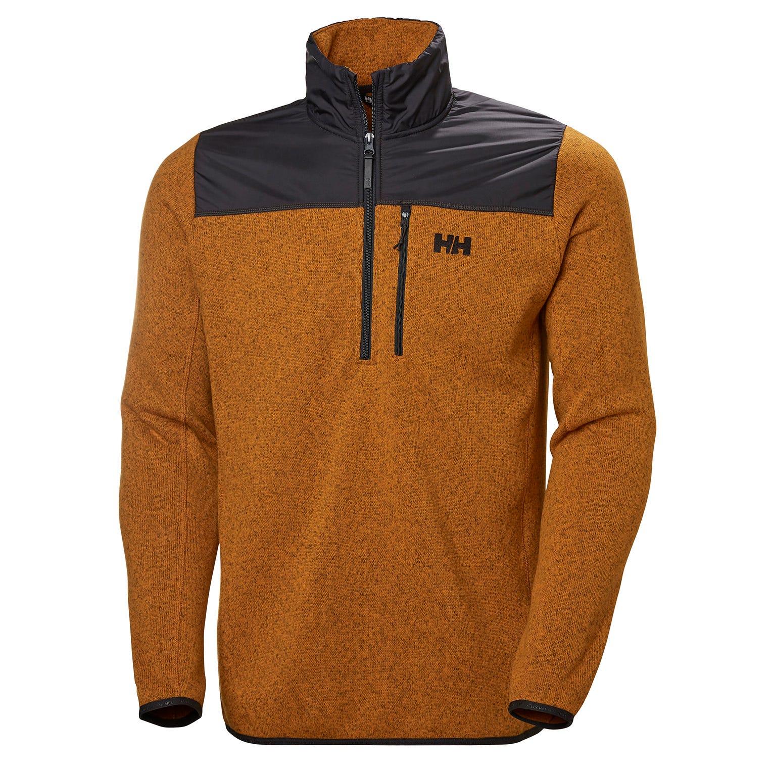 Hellyhansen Mens Varde 1//2 Zip Fleece Jacket