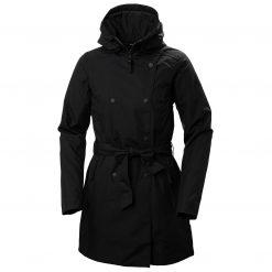 Helly Hansen Womens Urban Rainwear Welsey Ii Trench Insulated Rain Coats