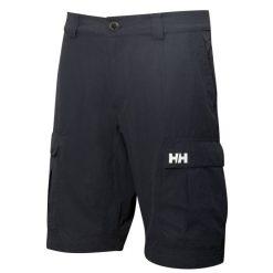 Men's black QD Cargo Short 11″