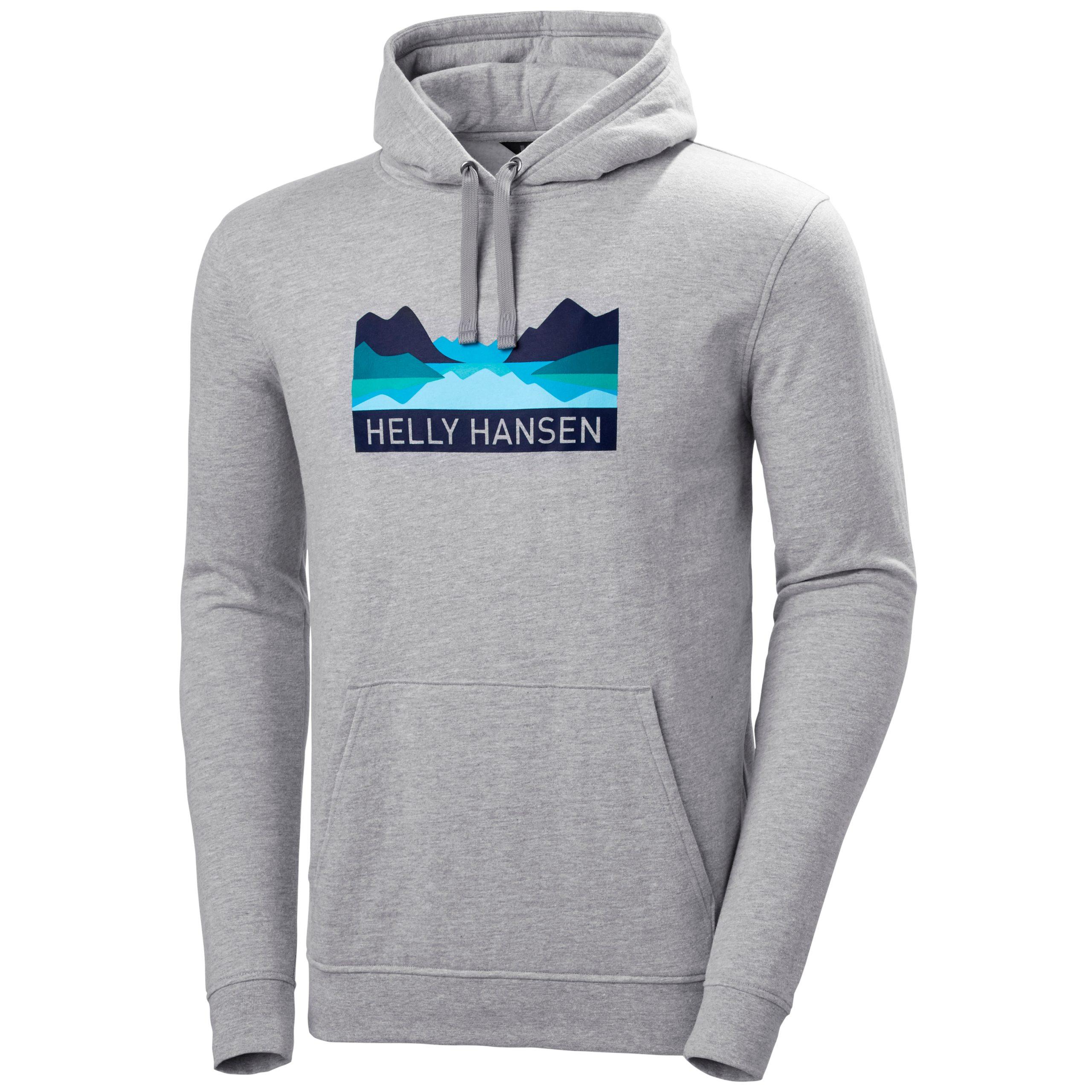 Details about  /Helly Hansen Mens 2020 Nord Graphic Longsleeve Lightweight Regular Fit T-Shirt