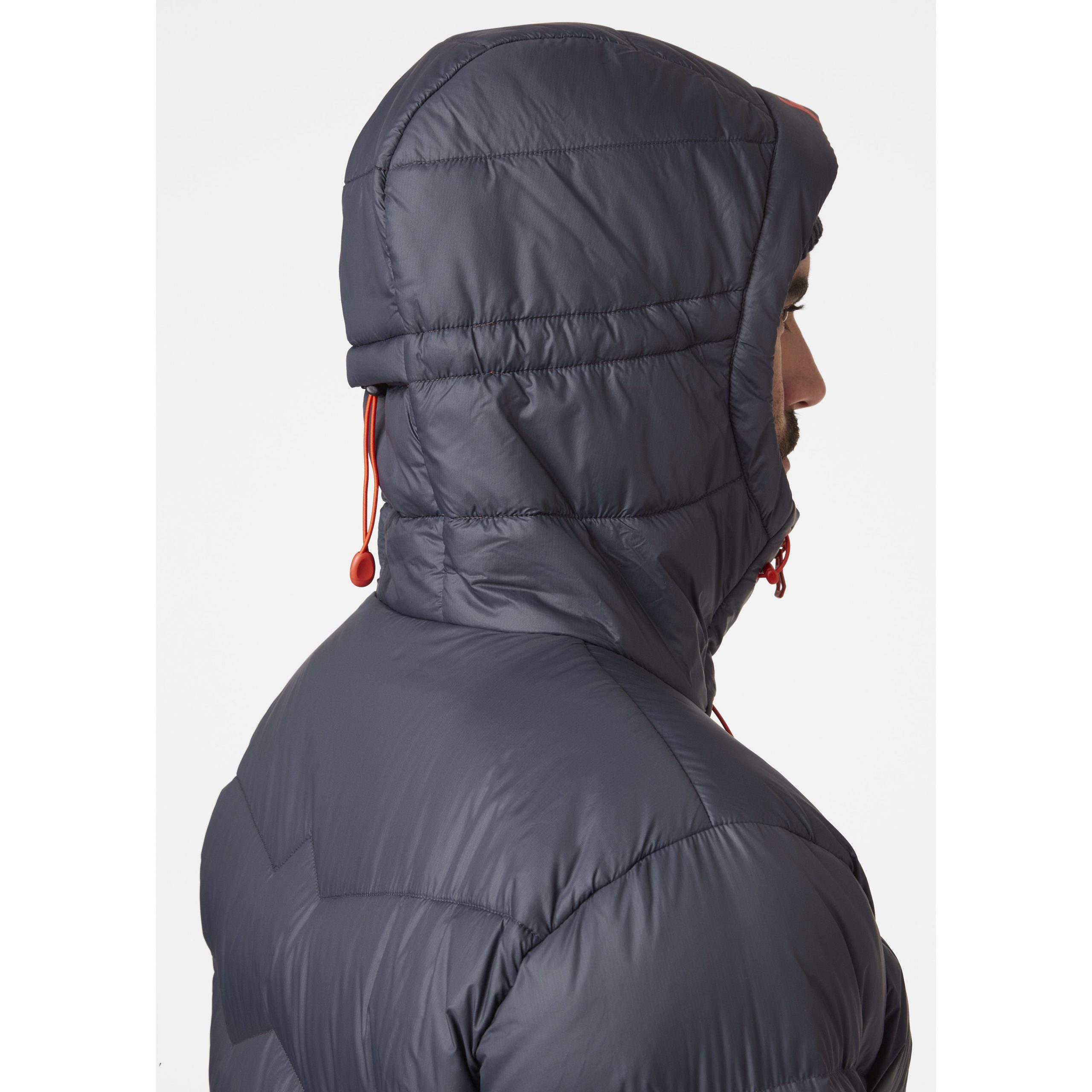 L Hombre Black Helly Hansen Verglas Icefall Down Jacket Chaqueta