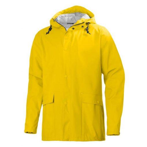 Men's yellow Lerwick waterproof Jacket