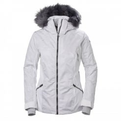 Women's white ski Jacket